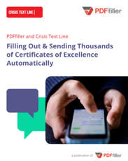 Filling Out & Sending Thousands of Certificates of Excellence Automatically
