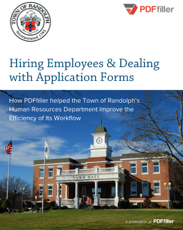 Hiring Employees & Dealing with Application Forms