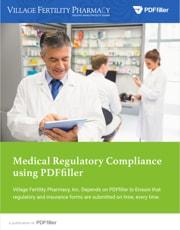 Medical Regulatory Compliance using PDFfiller
