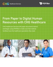 From Paper to Digital Human Resources with CHG Healthcare