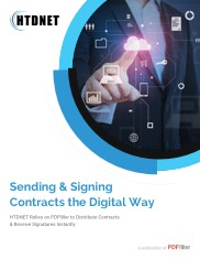 Sending and Signing Contracts the Digital Way