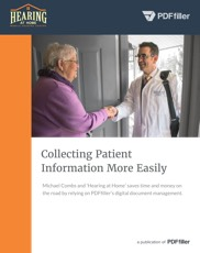 Collecting Patient Information More Easily