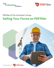 Selling Your Forms on PDFfiller