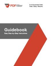 PDFfiller Guidebook